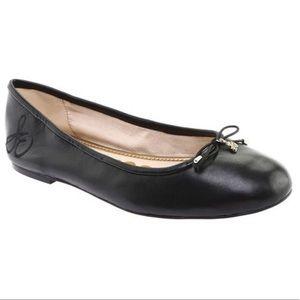 Sam Edelman Flats Black Leather Bow Charms 7